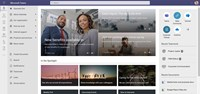 Intranet start page in Microsoft Teams